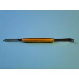 Нож-шпатель зуботехнический с пластиковой ручкой(1шт) Россия