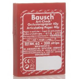Копирка бумага BAUSH 40мик. ВК62 прямая красная (200листов)