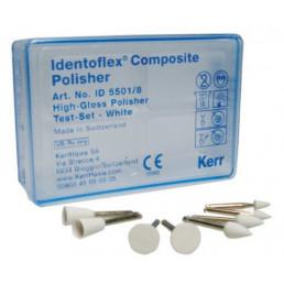 Идентофлекс Компосайт Белые-Чашка большая (12 шт/уп) полировка до блеска KERR Identoflex