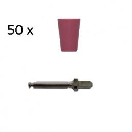 Enforce Чашки (Красный - Средний) (50шт+2мандрели), Kagayaki (Кагаяки)