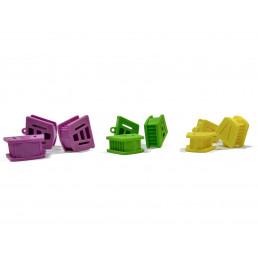 Прикусной блок Лягушка, размер S, для удержания рта пациента (1ш)