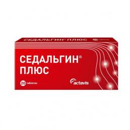 Седальгин Плюс, таблетки (20 шт) Балканфарма - Троян АД