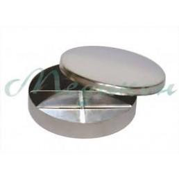 Чашка петри металл (4 деления, большая) 50861 Медикон