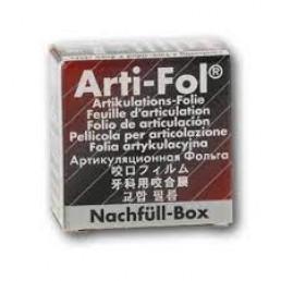 Копирка фольга металлик BAUSH 12мик. ВК1028 прямая(рулон) черная/красная двусторонняя (20м*22мм)