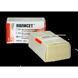 Полисет №3 паста для полирования изделий из керамики и  пластмассы (100гр) ВладМиВа