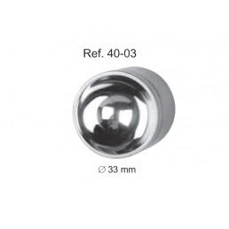 40-03 Емкость (ступка) для замешивания костного материла ø 33 мм