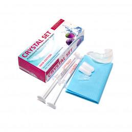 Кристал Сет (2шпр*4мл Минералс + капа) Гель для реминерализации зубов, АмейзингВайт (Crystal Set Minerals)