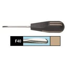 Люксатор (F40) периотом усиленный 4,0мм, прямой, Directa
