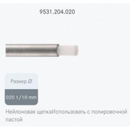Щетка для полировки 9531.204.020 (узкая длинная) Нейлоновая 1шт Komet dental