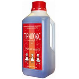 Трилокс (1л) Концентрат. Моюще-дезинфицирующее средство широкого применения, БОЗОН