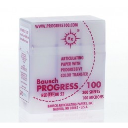 Копирка бумага BAUSH 100мик. BK52 прямая красная (300листов)
