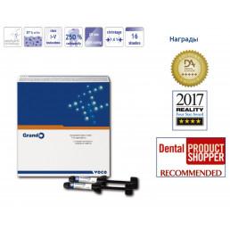 Грандио набор (5шпр*4гр) A1,A2,A3,A3.5,B2 - Универсальный наногибридный пломбировочный материал VOCO (Grandio)