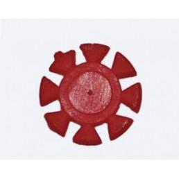 Счетчик для использования инстр. Красные (100 шт/уп) Kagayaki (Кагаяки) (Ромашки)