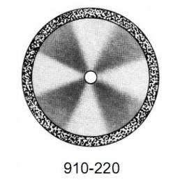DISC  910/220         (0,55 mm) двухст.край