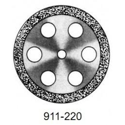DISC  911/220         (0,55 mm) двухст.край.отверстия