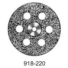 DISC  918/220         (0,40 mm) верх.полный.отверстия
