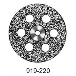 DISC  919/220         (0,40 mm) низ.полный.отверстия