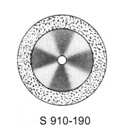 DISC S 910/190 (200) (0,17 mm) двухст.край