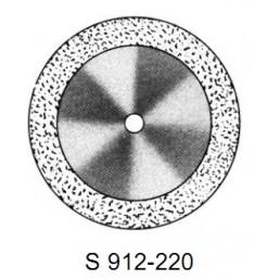 DISC S 912/220       (0,12 mm) верх.край