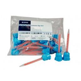 Смесители насадки синие с оранжевым сердечником (4:1 для Люксатемпа и тп) 45 шт/уп DMG