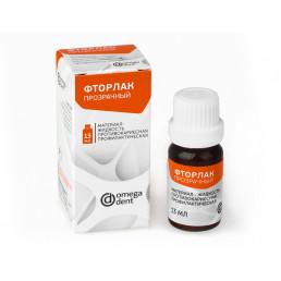 Фторлак прозрачный (13 мл) Противокариесная и профилактическая жидкость, Омега