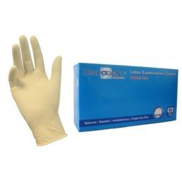 Перчатки латекс  Дисподент M (7-8) 100шт