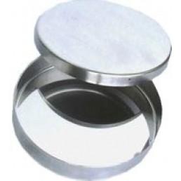Чашка петри металл (без делений, большая) 50811 Медикон