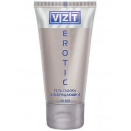 Гель-смазка VIZIT Erotic, возбуждающий (50 мл) CPR Produktions- und Vertriebs GmbH