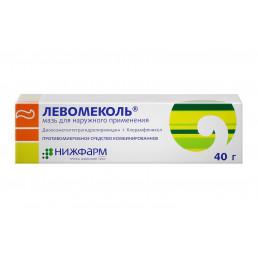 Левомеколь мазь для наружного применения (40мг/г+7,5 мг/г) (40 г) Нижфарм АО