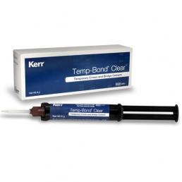 Темп бонд (шприц 5мл) Цвет белый прозрачный  -цемент для фиксации коронок KERR (Temp Bond Clear)