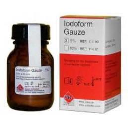 Иодоформенный бинт(турунда) 5м*20мм 5% PD