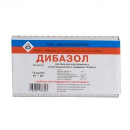 Дибазол,  1%  (5 мл/шт.) ампулы (10 шт.) Дальхимфарм