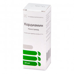 Кордиамин 25% (30 мл) капли для приема внутрь. Татхимфармпрепараты