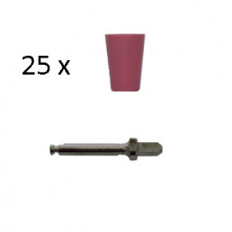Enforce Чашки (Красный - Средний) (25шт+1мандрель), Kagayaki (Кагаяки)