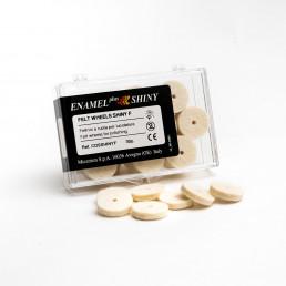 Войлочный диск д/полировки  ENAMEL, 30шт/уп Micerium s.p.a