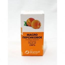 Масло персиковое, косметическое (50 мл) Зеленый доктор