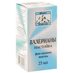 Валерианы настойка (25 мл) Флора Кавказа (Валерианка)