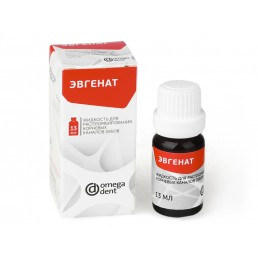 Эвгенат (13мл) жидкость для распломб. эвгеноловых паст ОМЕГА (аналог Эндосольв Е)