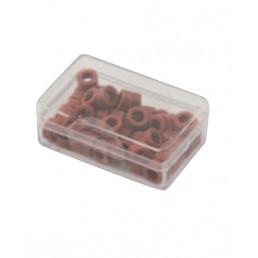 Маркировочные кольца для инструмента, коричневые, упаковка 50 шт.