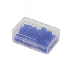 Маркировочные кольца для инструмента, синие, упаковка 50 шт.