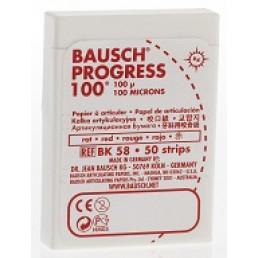 Копирка бумага BAUSH 100мик. ВК58 прямая красная (50листов)