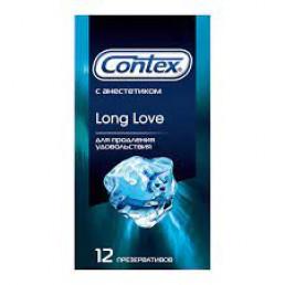 Презервативы Контекс Long Love с анестетиком (12 шт) Рекитт Бенкизер