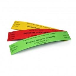 Штрипсы металич. АГРИ 4мм, желтые (Зерно: мелкое, 50мкм), уп 5шт