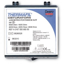 Термафил (6шт) 25мм №45 - Обтураторы из гуттаперчи Dentsply (Termafil)