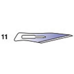 Лезвия д. скальп стерильные №11 (уп/100шт) CERTUS