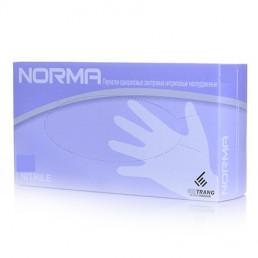 Перчатки нитрил, 100шт, Сиреневые NORMA L (8-9)