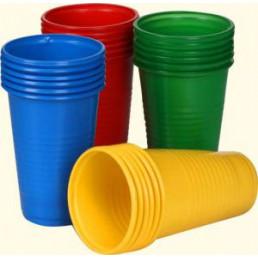Стакан пластиковый ЗЕЛЕНЫЙ (200шт/уп)