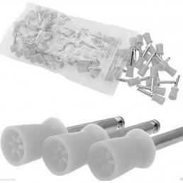 Щетка-резинка для полировки (6 перепонок)  (10шт)