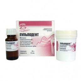 Пульподент (25гр+15мл) антисепт. пломбирование витальных моляров, ВладМиВа