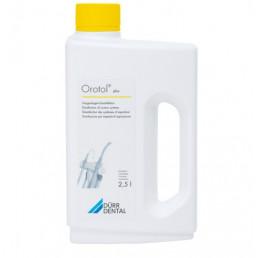 Оротол плюс (2,5л жидкость) для обработки отсасывающих систем всех видов DURR Dental